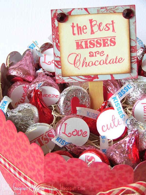 Chocolate Kiss Bowl