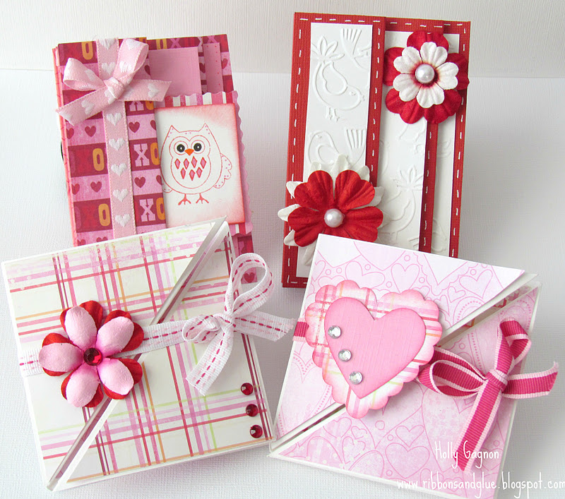 Multi Fold Valentines Cards