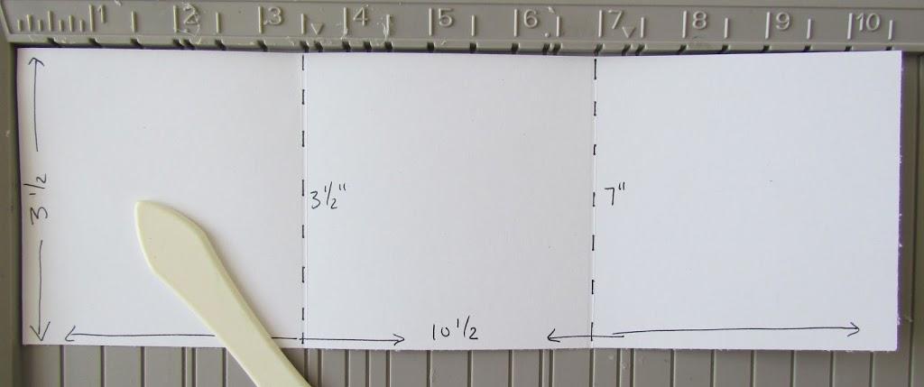 Triangular Fold Card