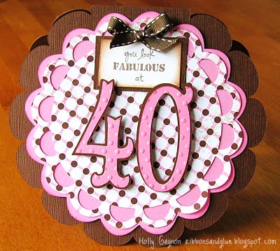 Fabulous 40 Card