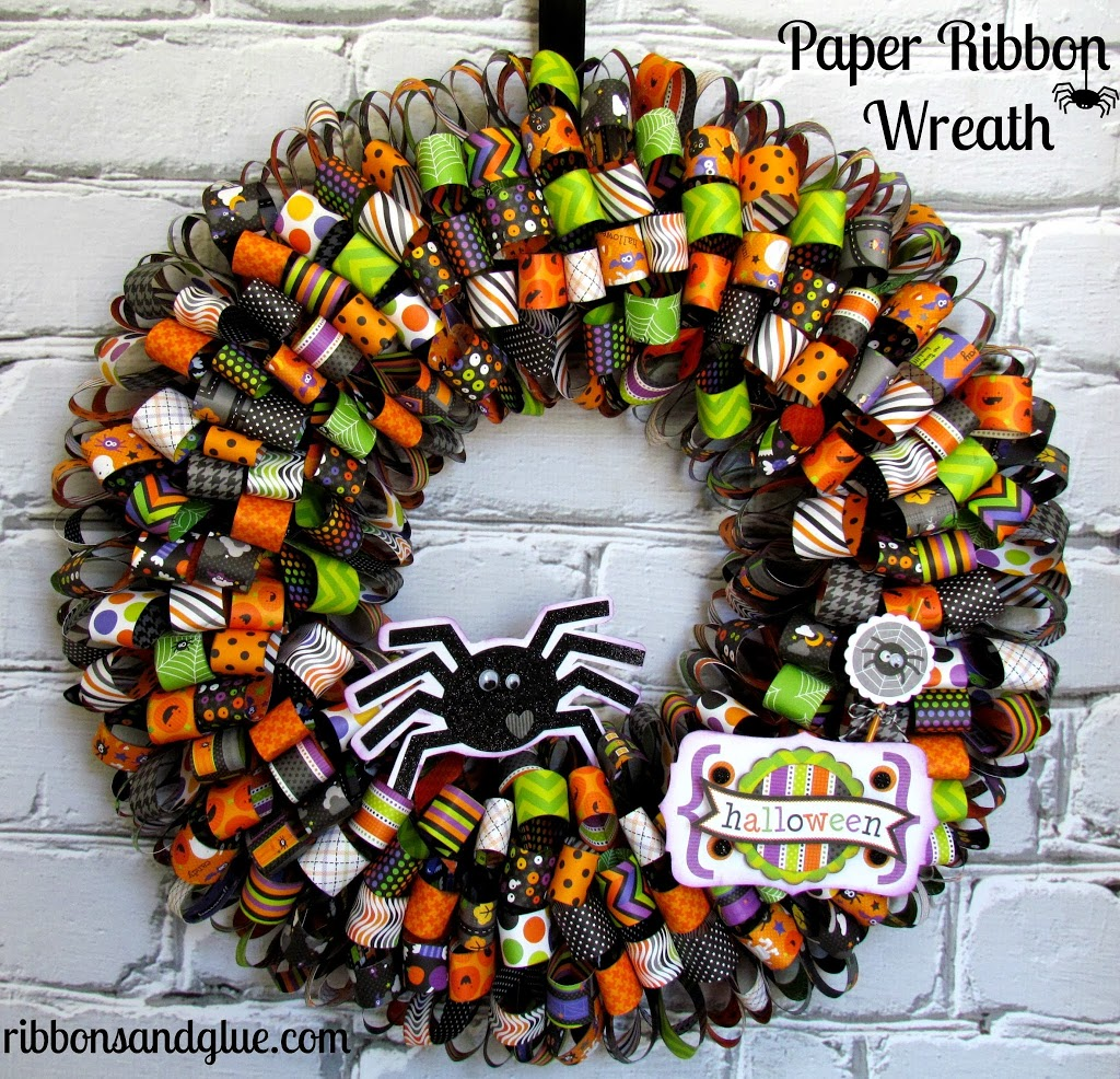 paper wreath How to make a paper flower door wreath this all year around craft gives wreath ideas for using old books to make a beautiful door wreath for your home.