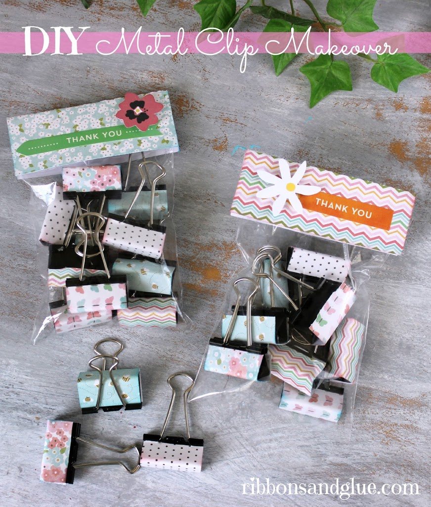 easy diy metal clip makeover
