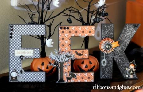 Halloween Letters