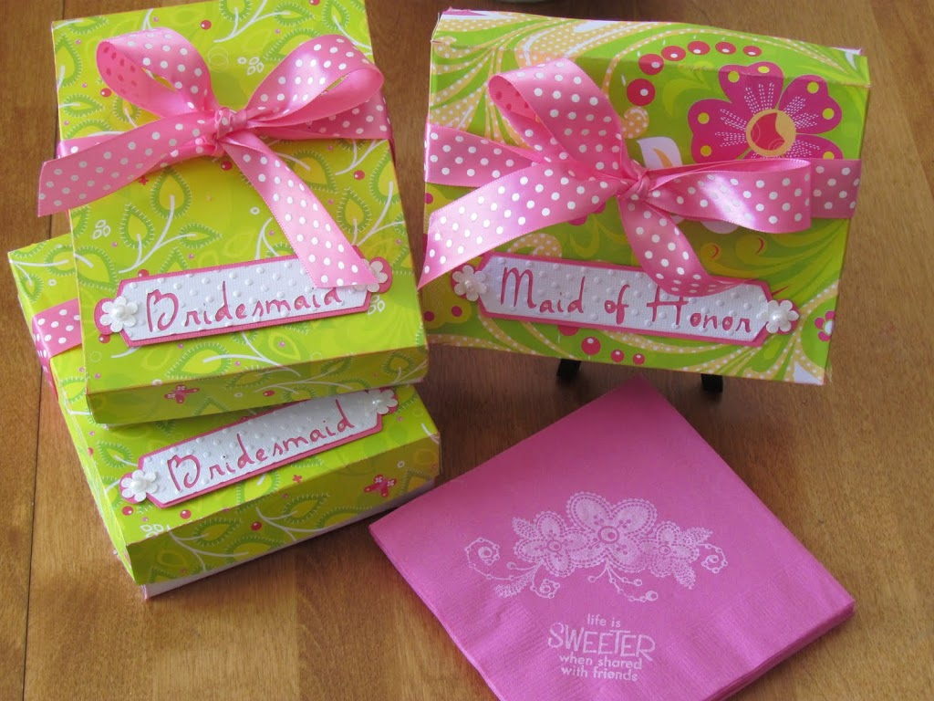 BDIY Bridal Shower Gift Boxes