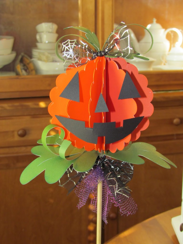 3D Jack-o-lantern