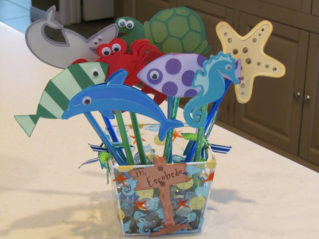 Under The Sea Classroom Decoration Ideas ~ Under the sea pencil toppers
