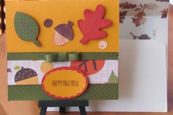 Happy Fall Ya'll Card