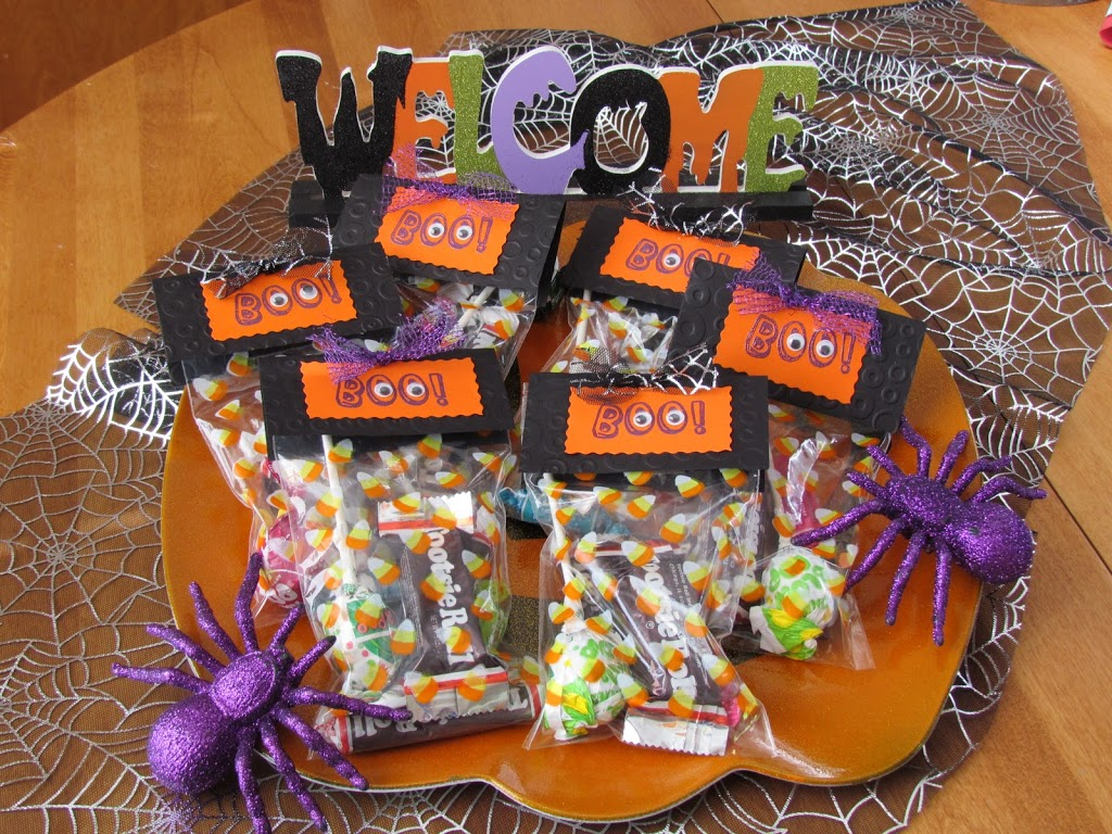Halloween Boo Treat Bags