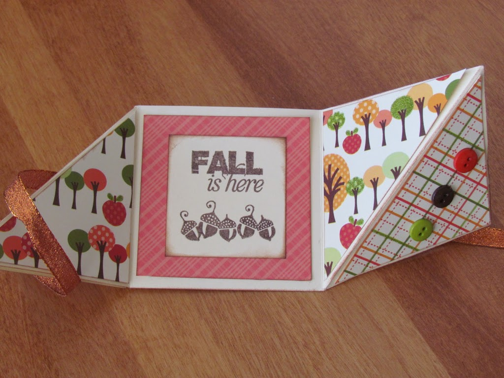Fall Tri-Fold Card