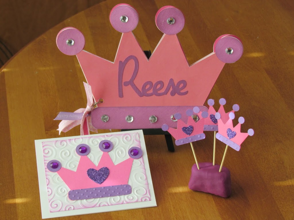 Pink and Purple Princess Crown Party