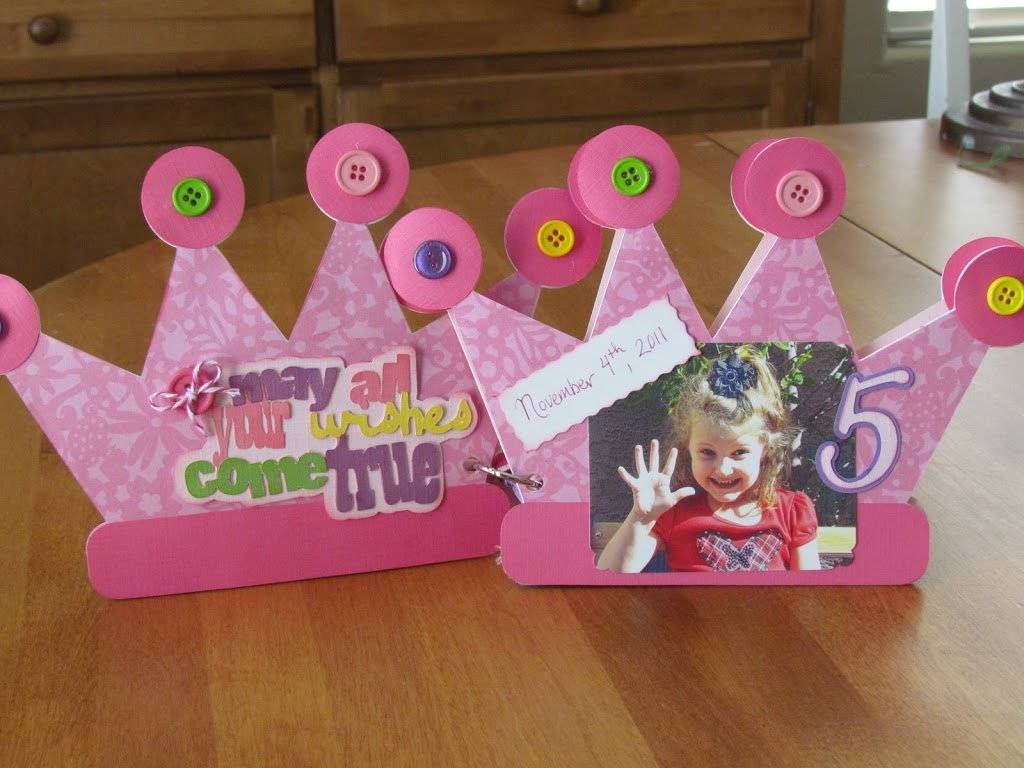 Princess Birthday Card Book