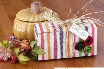 How to make a One Sheet Gift Box