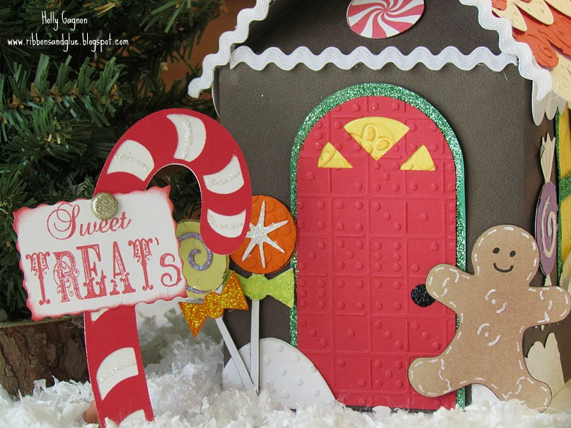 Gingerbread House made with Cricut