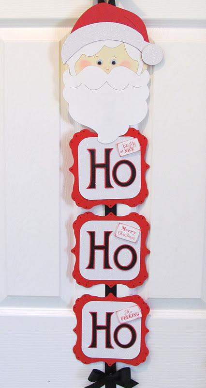 Santa Claus Door Banner