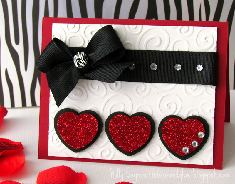 Red Hot Love Valentines Card