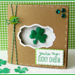 Lucky Charm Card St Patrick's Day Card