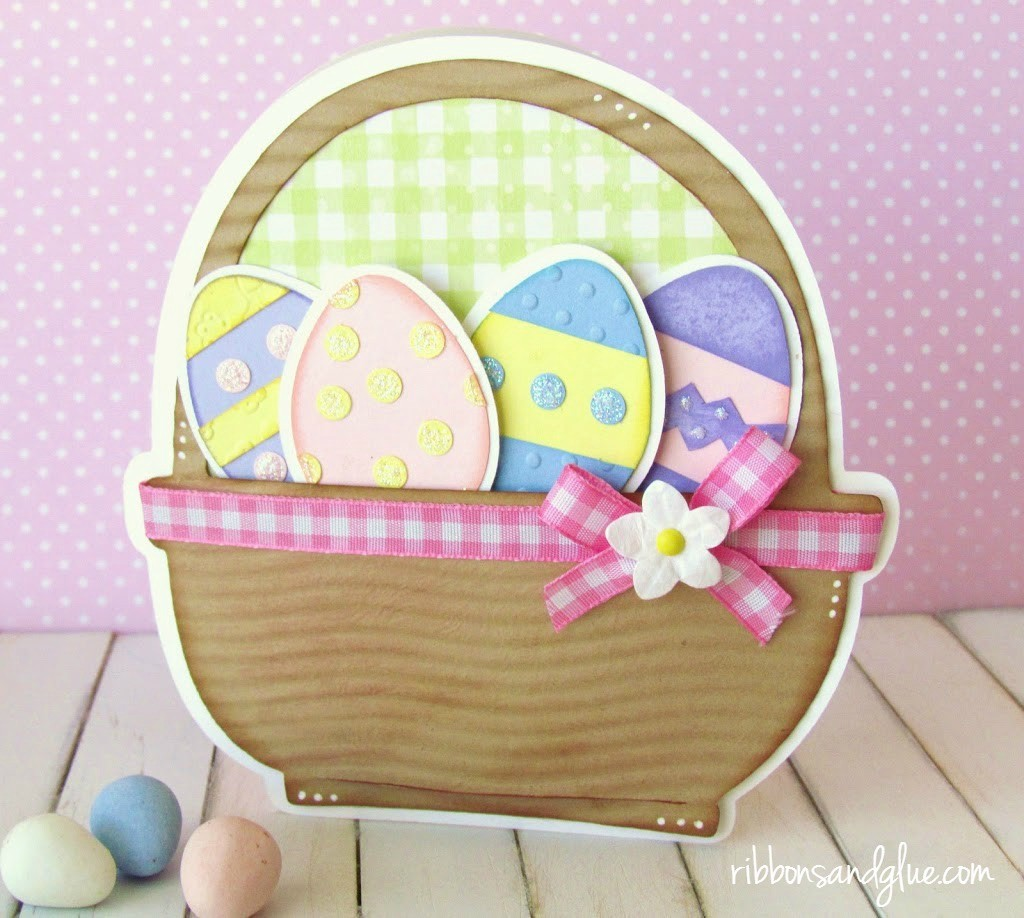 basket Full of Eggs Card