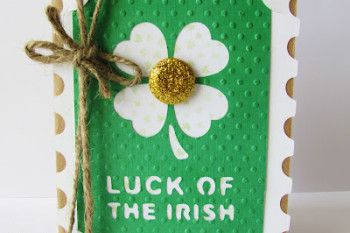 Lucky of the Irish Gold Card