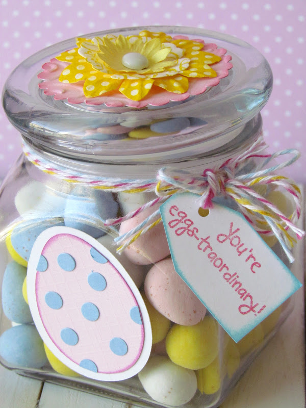 Simple Easter Candy Jar