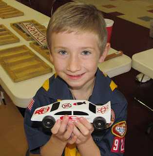 Pinewood Derby Car Fun