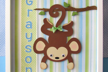 Monkey Shadow Box
