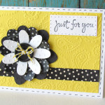 Smash Tape Flower Card