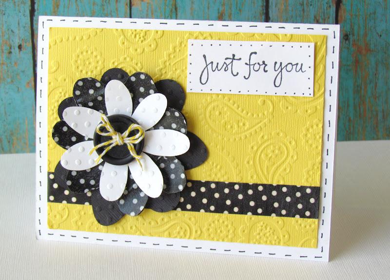 Smash Tape Flower Card