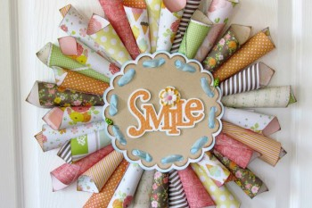How to make a Paper Cone Wreath