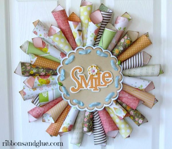 Spring-Paper-Cone-Wreath-