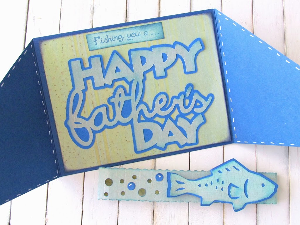 Fish themed  Father's Day Card
