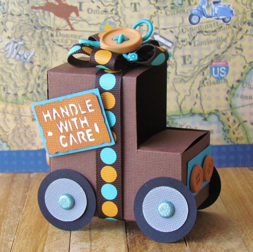 UPS Brown Truckt reat box