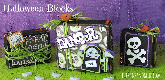DIY Halloween Blocks