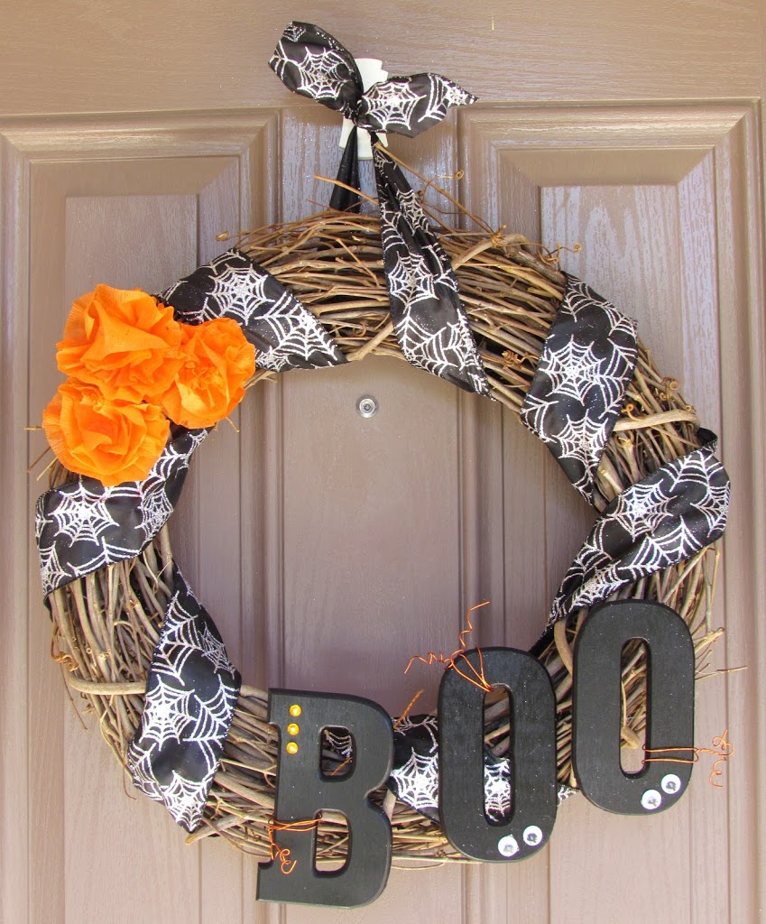 Boo Wreath