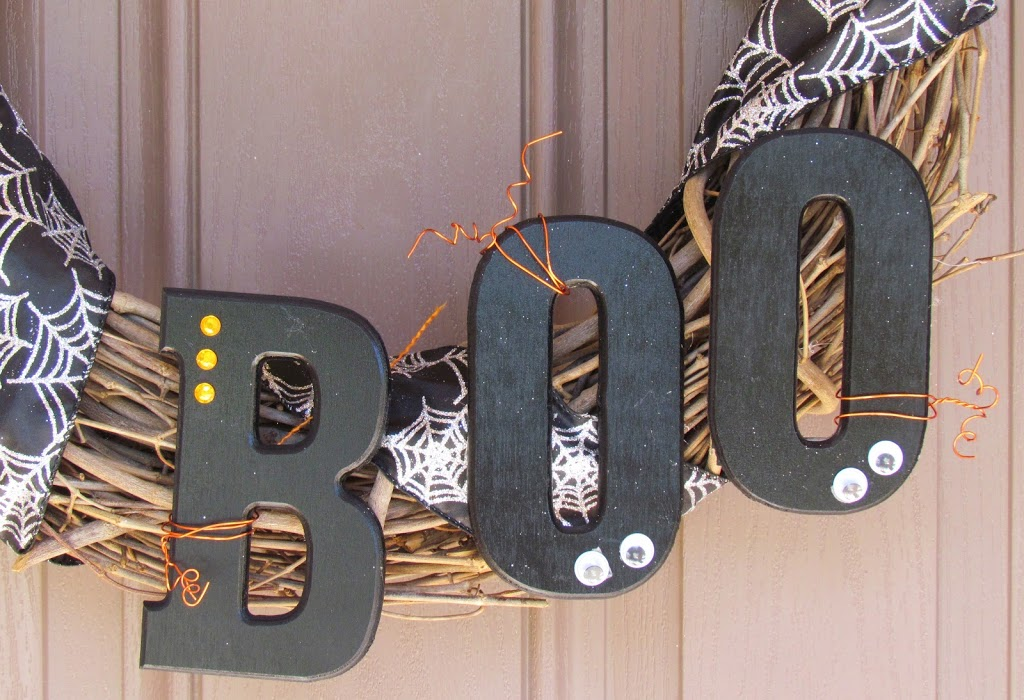 Wood Boo Letters