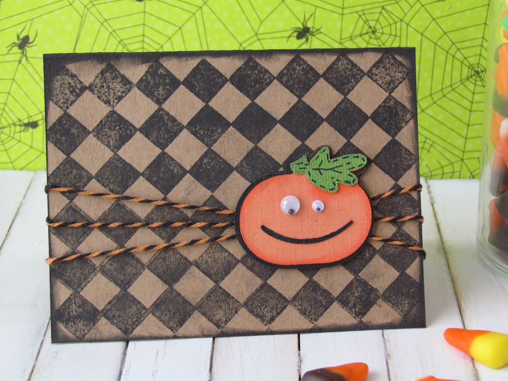 Halloween Card and Tag