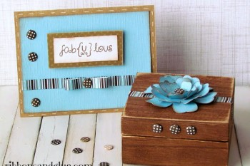 Fabulous Keepsake Box and Card