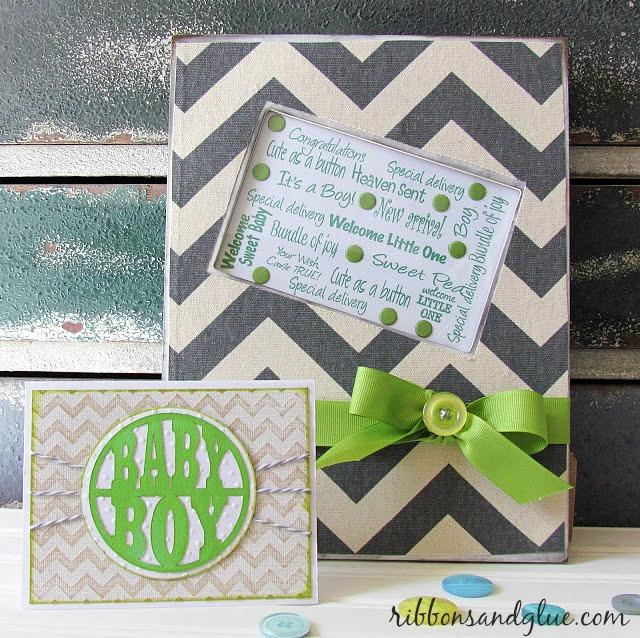Chevron Baby Nursery Decor