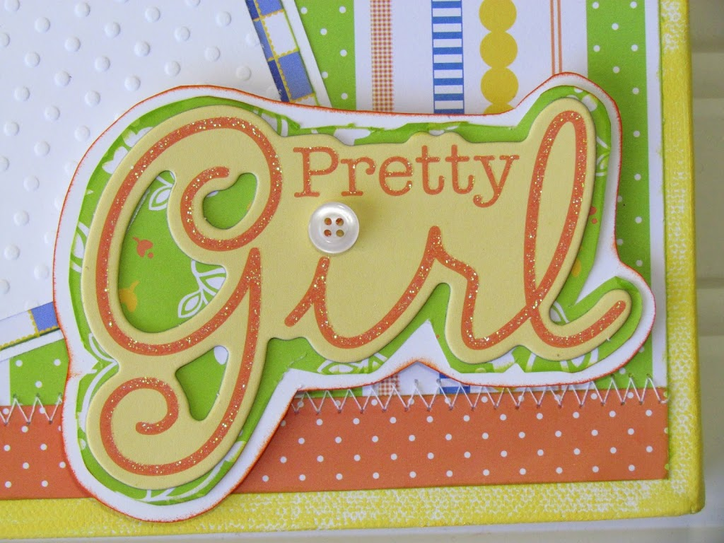Pretty Girl Chipboard