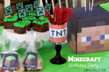Party Minecraft Style