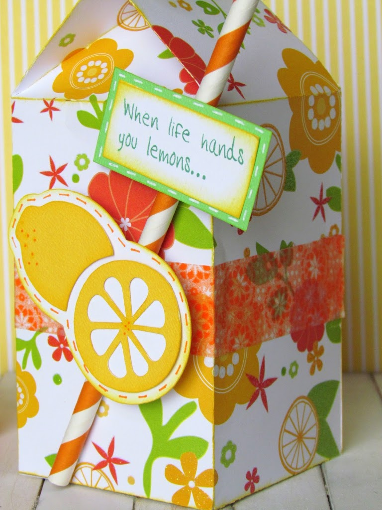Lemon Box Cut File