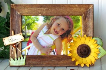 Summer Sunflower Frame
