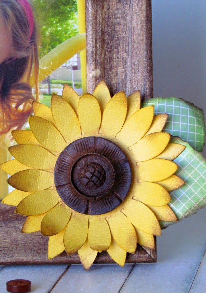 Summer Sunflower Frame