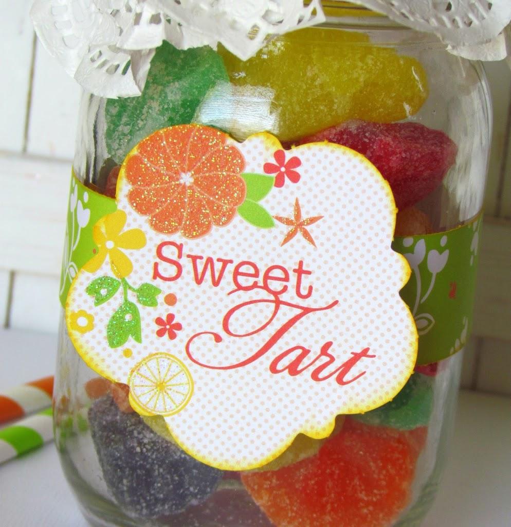Sweet Tart Jar