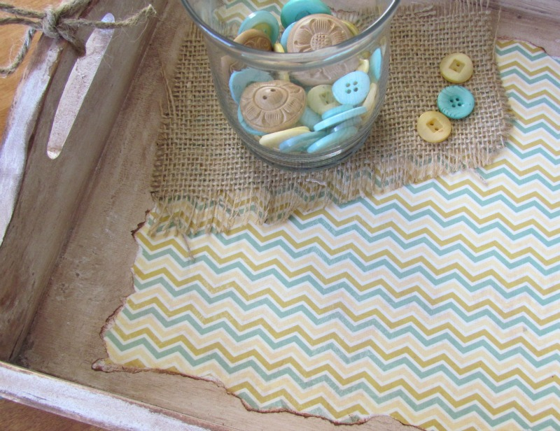 Button Serving Tray
