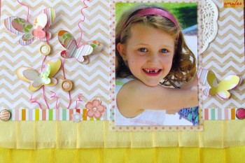 Sweet Smiles Layout