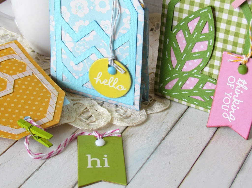 Tea bag Treats made with @silhouettepins and @pebblesinc