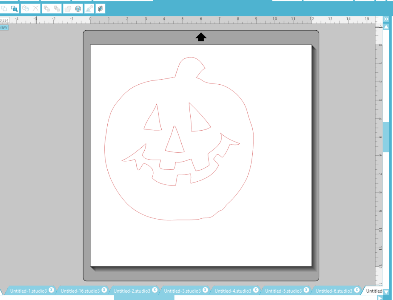 Pumpkin Cut File