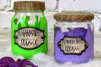 How to make Spooky Jars
