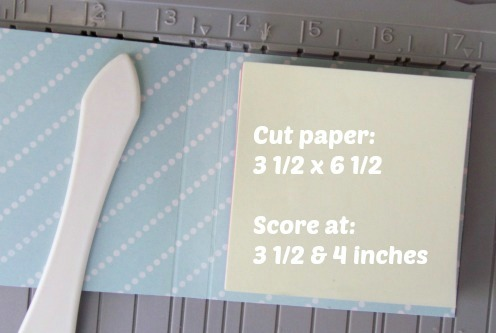 How to make a DIY Post It Note Holder
