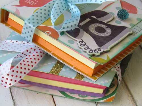DIY Post It Note Holders